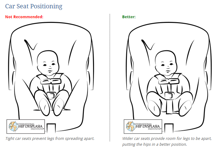 Infant Hip Health Pro Car Seat Safety